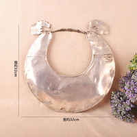 Miao ethnic handmade silver collar old Miao Silver Necklace Handmade Dragon Necklace