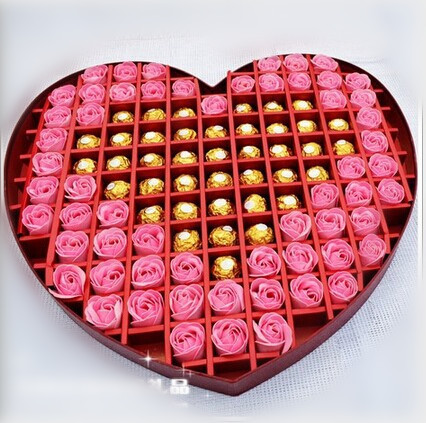 Durex heart shaped chocolate roses gift box 66 put contraception ...