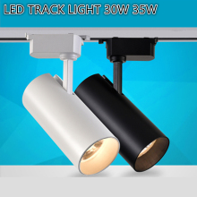 LED Track light cob track lamp rail light 20w 30w Clothing Shop Windows Showroom Exhibition Spotlight Ceiling Rail Spot Lamp vintage ceiling lamp spot light industrial wind bar clothing personality probe to shoot the light track light absorb dome light