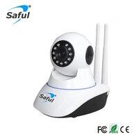 Saful 1080 P אלחוטי Wifi IP מצלמה ראיית לילה אבטחת ONVIF חיישן מעקב עבודה עם מערכת אזעקה