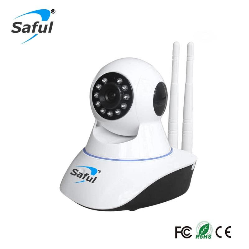 Saful 1080P Wireless Wifi IP Camera Night Vision Security Camera ONVIF Surveillance work with alarm system sensor