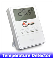 4- temperature detector