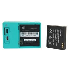 2 1010 mAh Battery Battery Charger for Xiaomi yi font b Camera b font Xiaomi Xiaoyi
