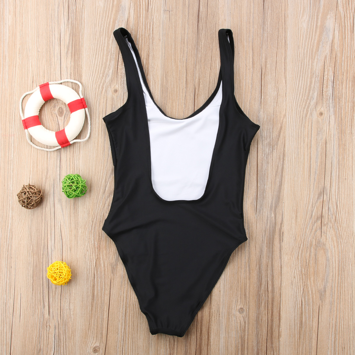 af71d482c6 2018 Family Matching Womens Mom Kids Baby Girls Bikini Bathing Suit  Sleeveless Bodysuit Swimwear Letters Cute Swimsuit-in Matching Family  Outfits from ...