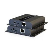 Новый HDMI удлинитель HDMI hdbitt Extender 4 К x 2 К до 120 м/394 Средства ухода за кожей стоп через cat5e /6 сетевые кабели поддерживают 1 передатчик до 253 приемник