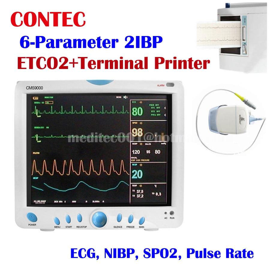 wholesale price CMS9000 6-Parameter ETCO2 ICU CCU Patient Monitor CMS9000 with RESP TEMP PR EC SPO2 NIBP+PRINTER vinguru kia sportage 2010 4