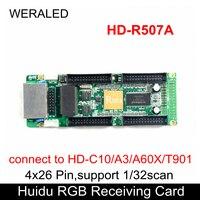 Huidu полноцветная приемная карта HD-R507A 4x26 контактов использовать для узкого пиксельного шаг светодиодный дисплей, работать с синхронизацией ...