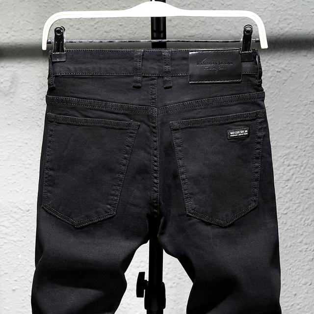 Black Jeans Slim Fit