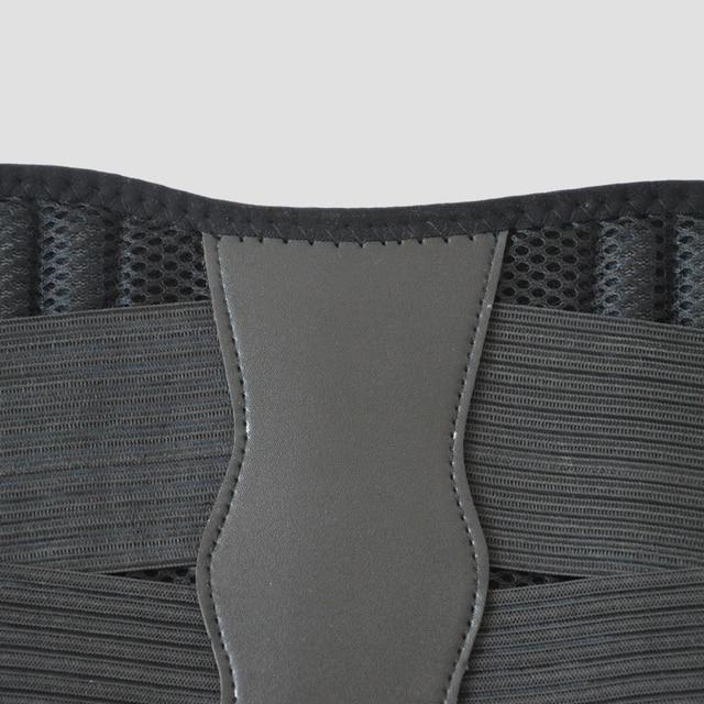 Big Size XXXL Heath Care Waist Support Neoprene Waist Protector for Sports Safety Men Women Waist Training Belts Sweat Belt 5