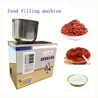 2g 200g food filling machine auto powder filling machine ,particles packaging machine,muti function racking machine