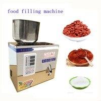 2g 200g Food Filling Machine Auto Powder Filling Machine Particles Packaging Machine Muti Function Racking