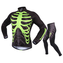New Cycling Jacket Thermal Long Sleeve Winter Cycling Jersey Mountain Cycling Clothing Bicycle Clothes Windproof Bike