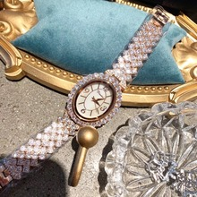 New Arrival Brand Jewelry Watches for Women Luxury Full Rhin