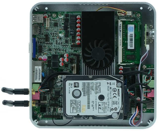 3 Years Warranty Cheap DIY Mac Mini PC Windows Preinstalled HTPC 1080P  Intel Core i5 I7 J1800 J1900 2GB Ram 16GB SSD 300M Wifi