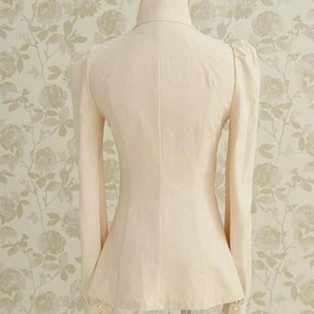 a232229c1e7 New Womens Victorian Ruffle Collar Blouse Puff Sleeve Silky Luxurious Top  Shirt For Women Female Shirts