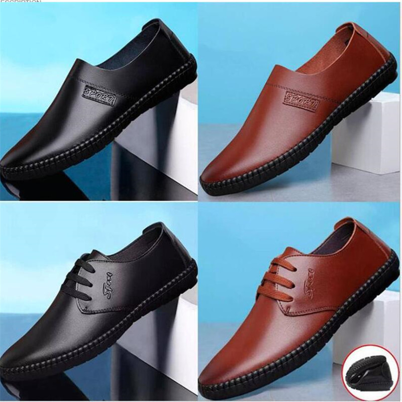 New strap mens casual shoes 2019 new fashion peas shoes business mens shoes size 39-44New strap mens casual shoes 2019 new fashion peas shoes business mens shoes size 39-44