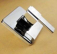 Бесплатная доставка! Площадь твердой латуни в стене ванной панель handle. Клапан. Ванной кран аксессуары