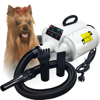220V/110V/3400W Professional Pet Hair Dryer Dog/Cat Grooming Dryer Double Motor Wind Blower For Large Pet Clothes/Hair Dryer