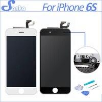 Apple iPhone 6 S Için Hiçbir Dead Pixel SANKA 3D ile 4.7 '' LCD Ekran Komple Dokunmatik Ekran Digitizer Değiştirme montaj Araçları