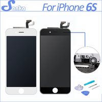 SANKA No Dead Pixel Display For Apple IPhone 6S LCD Display Complete With 3D Touch Screen