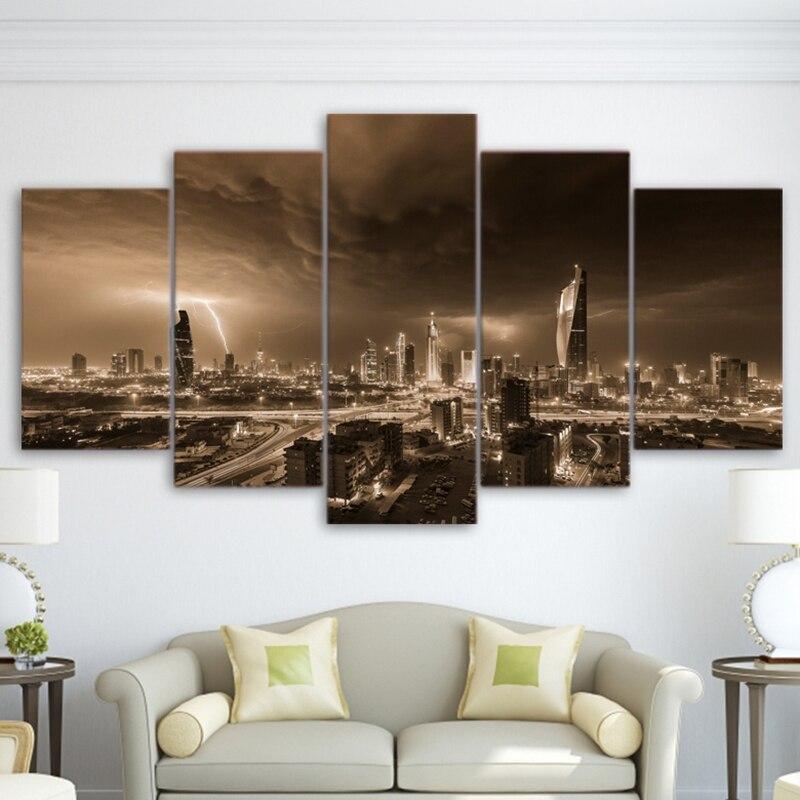 Modular Hd Print Painting Modern Poster Canvas Frame Home