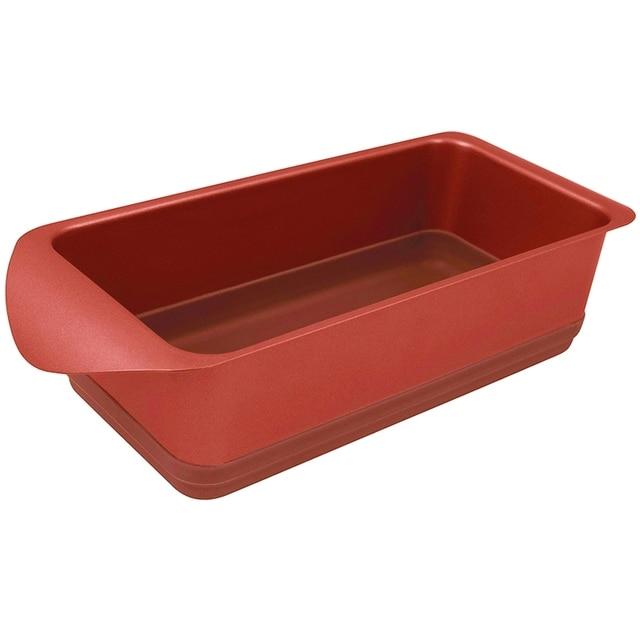 Форма для запекания Rondell Karamelle 10x20 cm RDF 448 (Углеродистая сталь и силикон, антипригарное покрытие, подходит для посудомоечной машины)