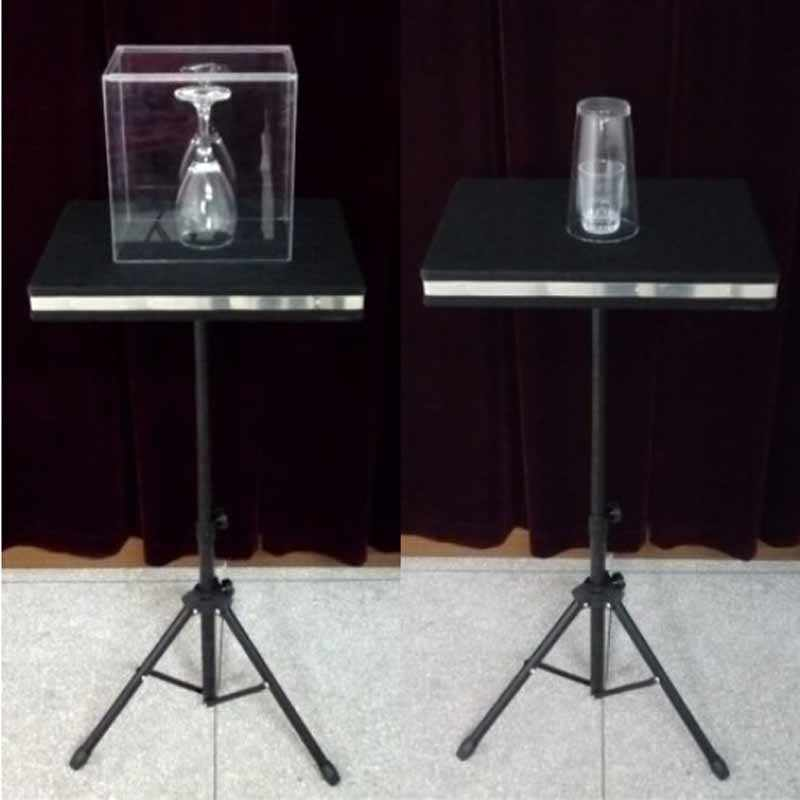 Remote control Glass Breaking and coin into glass table - Magic Tricks,Mentalism,Accessories,Illusion,gimmick