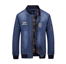 2017 mens spring jacket men s jean jacket big size men Outerwear Coats autumn fashion