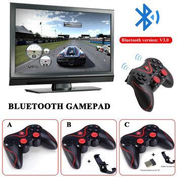 2018 Nuevo T3 Inalambrica Bluetooth Gamepad S600 Stb S3vr