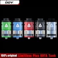 100 Original IJOY Limitless Plus RDTA 2 Post Deck 6 3ml Atomizer Rebuildable Genesis Style Tank