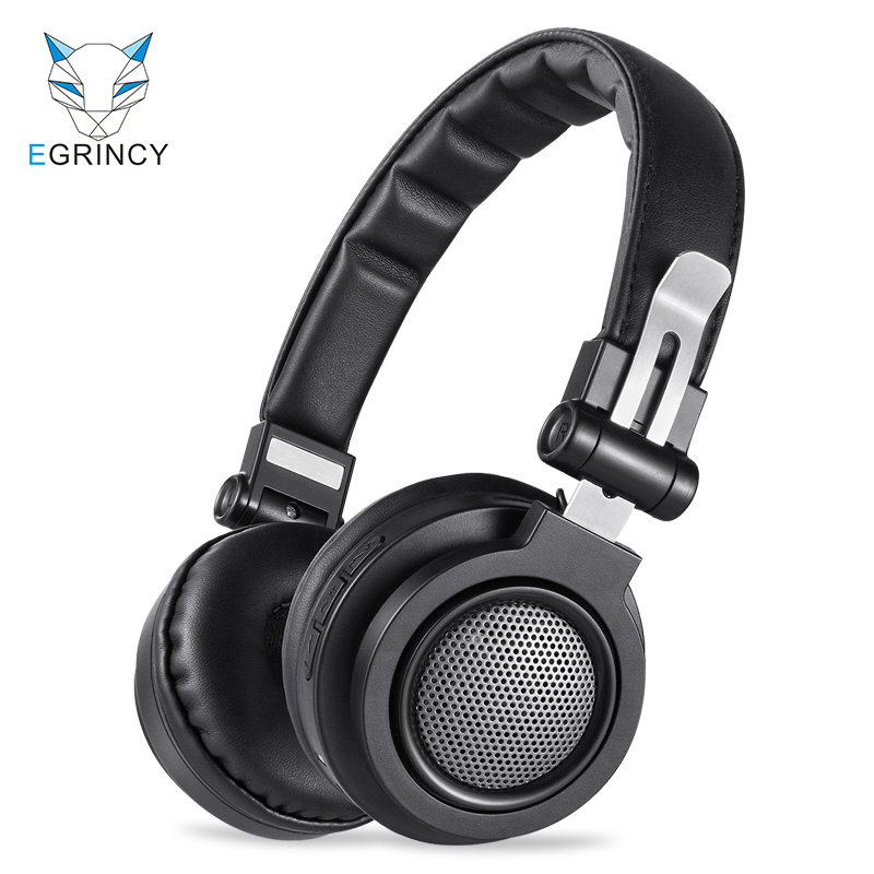 цена на EGRINCY BH6 Bluetooth Headphone With MIC Wireless Game Headset Bluetooth Support 3.5mm AUX Wired And TF Card For iPhone MP3 PC