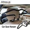 Автомобильная вешалка для одежды Atreus подголовник из нержавеющей стали для Citroen C4 C5 Hyundai Solaris I30 Ix35 Creta Ford Fiesta Fusion Opel