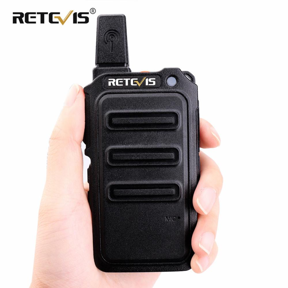 RETEVIS RT19/RT619 Walkie Talkie FRS/PMR446 License Free 2W/0.5W VOX CTCSS/DC Frequency Hopping Two Way Radio Transceiver Radio