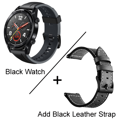 Black add strap