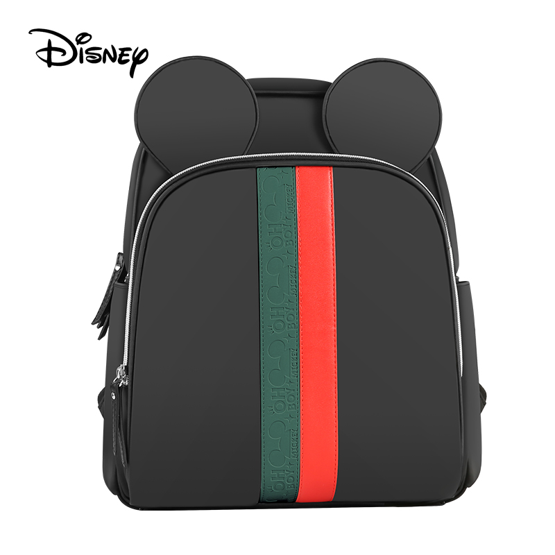 Disney bag travel backpack diaper bag with usb waterproof and heat preservation large capacity Mummy bag mickey wet bag image