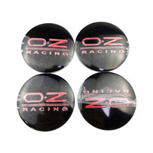 4pcs/set 56mm OZ Racing Logo for Geely Baojun Toyota Subaru Peugeot Opel MG Lexus Car Wheel Hub Cover Badge Center Sticker Parts