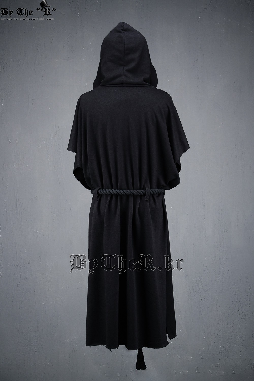 Novi moški pulover s kapuco plašč moški Street Fashion kratki - Moška oblačila - Fotografija 5