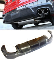 3 D Style Carbon fiber Rear Diffuser Fit For BMW F26 X4 M Sport