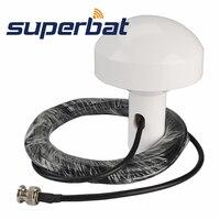 Superbat GPS Timing Antenna 1575.42+/ 2 MHz Marine Aerial BNC Male Plug 5M RG58 Cable Navigation Antenna Signal Booster 3 5V