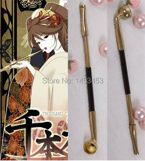 COSPLAY props Gintama skillet pipe stretch
