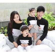 Autumn Family Look Mommy and Kids Clothes Matching Family Clothing Mother Daughter Mom Son Dad Baby
