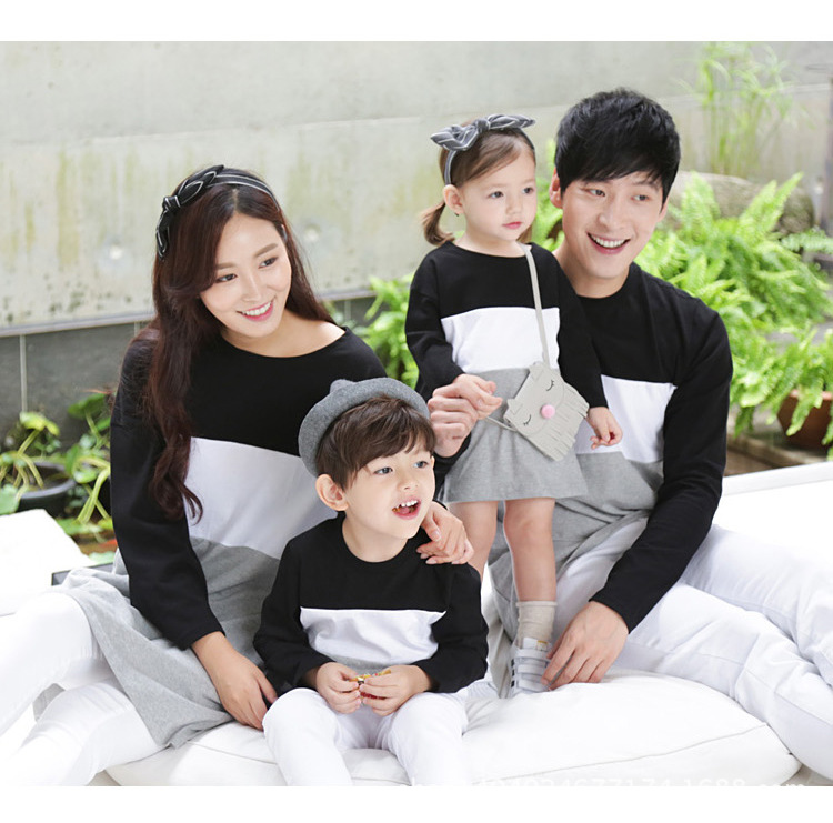 Autumn Family Look Mommy and Kids Clothes Matching Family font b Clothing b font Mother Daughter