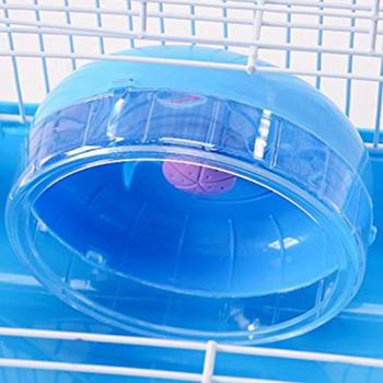 Adeeing Pet Hamster Cage with Running Wheel Water Bottle Food Basin Pet House Mice Home Habitat Decoration 1