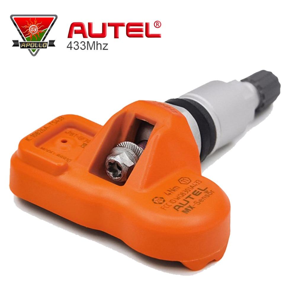 Universal MaxiTPMS Pad Tyre Sensor Programmer Autel TPMS Tire Pressure Sensor MX-Sensor 433MHz 315MHz MxSensor цена