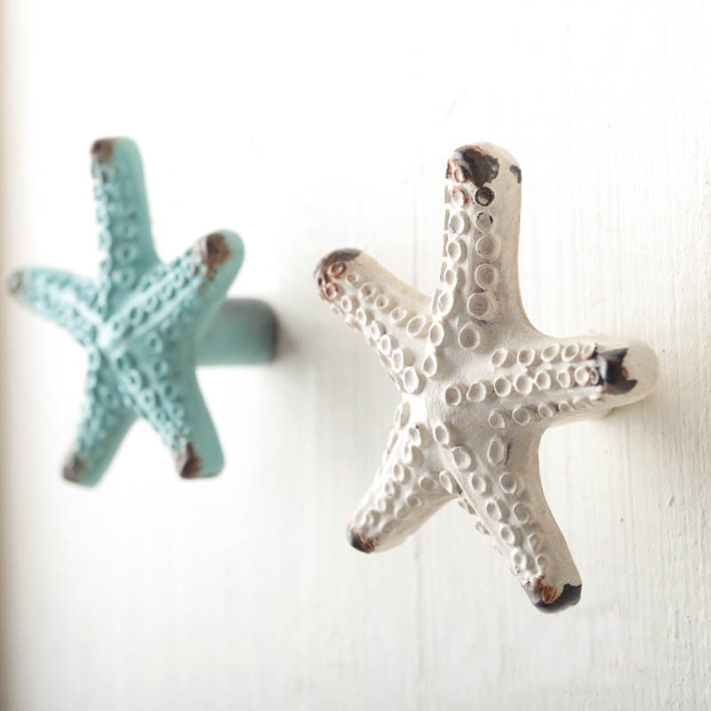 European-style Mediterranean Handle Simple Starfish Small Handle and Knob Childrens Bedroom Drawer Door Small Starfish HandleEuropean-style Mediterranean Handle Simple Starfish Small Handle and Knob Childrens Bedroom Drawer Door Small Starfish Handle