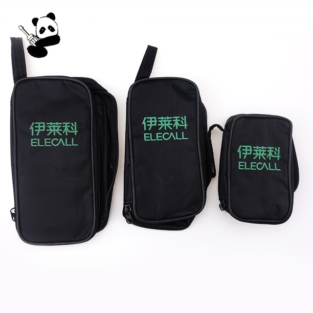 Free Shipping Mini Middle Large Bag For Small Accessories And Midget Tester Multimeters Storage