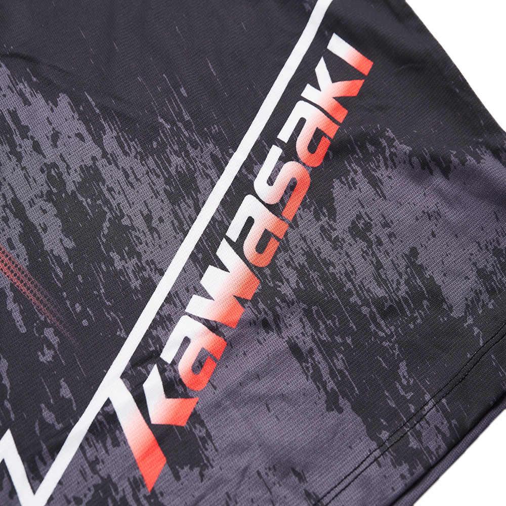 Kawasaki bádminton camisa de hombre ropa deportiva transpirable cuello en V bádminton, correr entrenamiento camisetas para hombres ST-S1105
