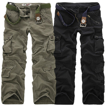 2019 New Military Cargo Pants Men Camouflage Tactical Casual Cotton Trousers Pantalon Hombre