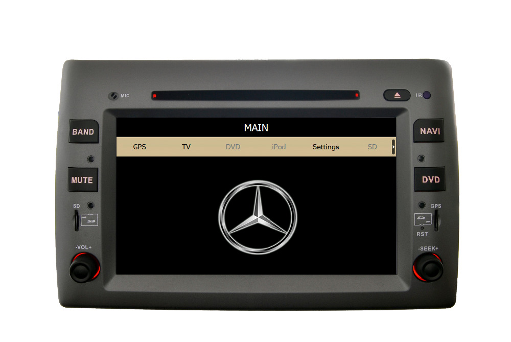 cars dvd touch screen car stereo 8 Inch Car DVD Player GPS Navigation Radio Fiat Stilo Bluetooth FREE 4G Map SD Card - Hualingan Technology Co., Ltd store
