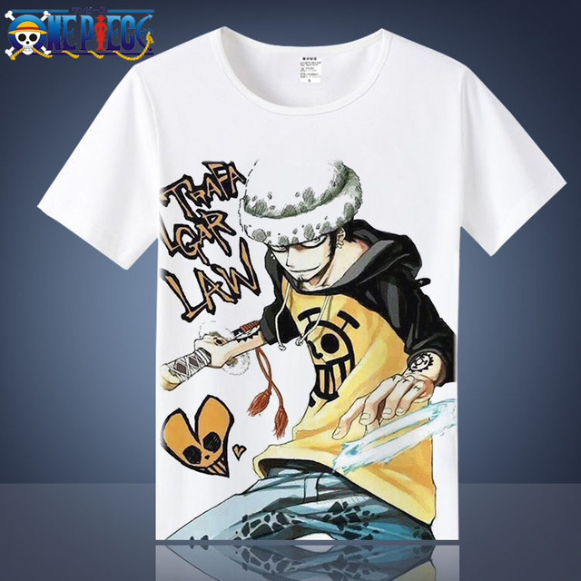 One Piece Luffy Casual Short Sleeves Men's T-Shirt